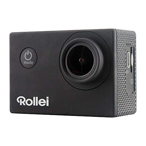 Rollei Actioncam 4S Plus - WiFi Action-Cam mit 4K Video-Auflösung, Wasserdichter Action Camcorder mit viel Zubehör