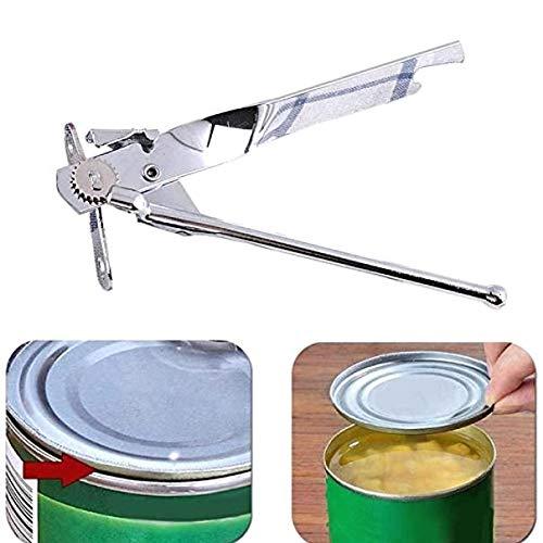 TRUUA Manuale 1PC Acciaio Inox apriscatole, Professionale Multifunzionale Farfalla può Bottle Jar Apriscatole Manuale Alimentari Camping