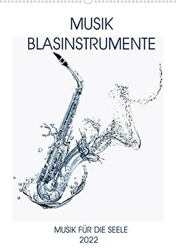 Musik Blasinstrumente (Wandkalender 2022 DIN A2 hoch)