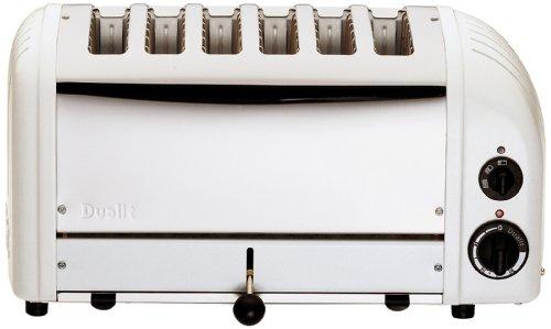 Dualit VARIO - Tostadora 6 slices blanco
