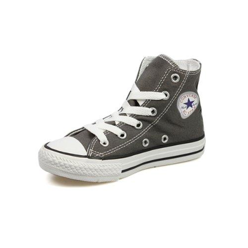 Converse Chuck Taylor All Star Core Hi, Unisex Kinder Kurzschaft Stiefel, Charcoal, 36 EU Kinder