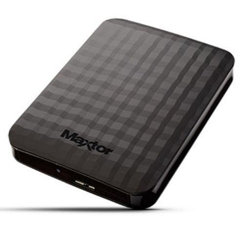 'Maxtor M3Portable–Disco Duro Externo de 1TB, 2.5, USB 3.0, Color Negro