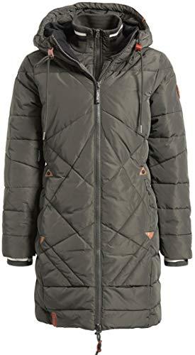 khujo Annabell Jacket 1224JK183-330 Damen-Winterjacke Dark Olive Gr. XXL