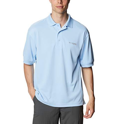 Columbia Herren Poloshirt Perfect Cast, Herren, Perfect Cast Polo Shirt, Segel, 3X Tall
