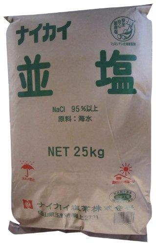 業務用 ナイカイ並塩 25kg