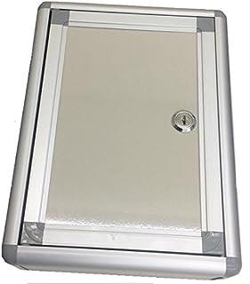 ノーブランド品 鍵付 壁掛け対応 ご意見ボックス 回収箱 金庫 投票箱 貴重品 小型 アンケートBOX 接客 お客様の声 選挙 書類保管箱 窓無しタイプ DMT-ANBOX2