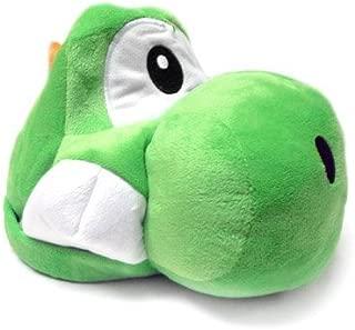 Mario Bro: Super Green Yoshi Plush Costume Hat