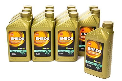Eneos 3703-301 Full Synthetic Motor Oil, 12 Quart, 1 Pack