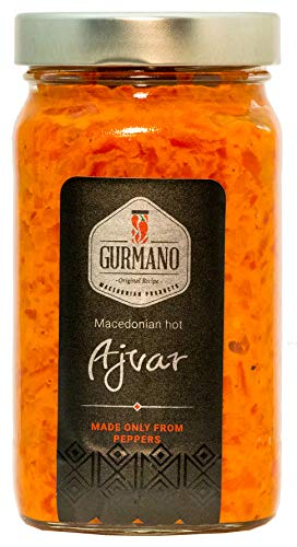 Gurmano Hot Ajvar 490g (17.3 oz)