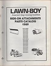 1989 LAWN-BOY RIDE-ON ATTACHMENTS (SEE COVER MODEL LIST) PARTS MANUAL (103)
