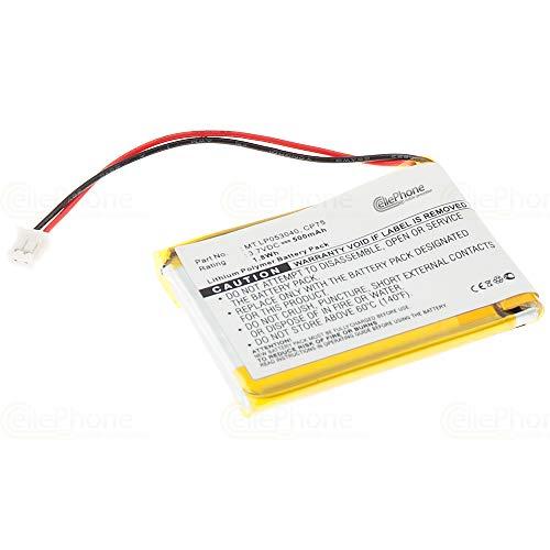 cellePhone Batterie Li-Polymer Compatible avec iDect X2 / X2d / X2 / X2di / M1 / M2 (Remplacement pour MT LP053040)