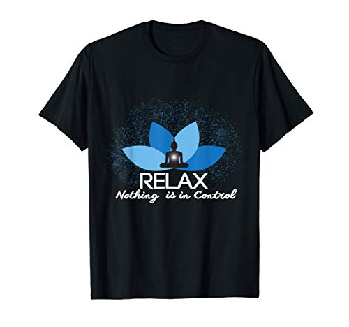 Yoga - Relax Lotus Sitz Meditation Design für Yogis T-Shirt