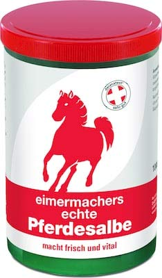 Eimermacher echte Pferdesalbe 1000 ml - Mit erfrischenden Menthol