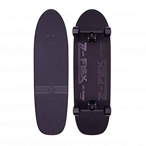 Z-Flex Skateboard Skateboard Shadow Lurker Pool 9.5x33 Black