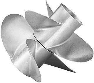 Quicksilver Bravo Three Propeller, 28x13 3/4R, Matte Stainless