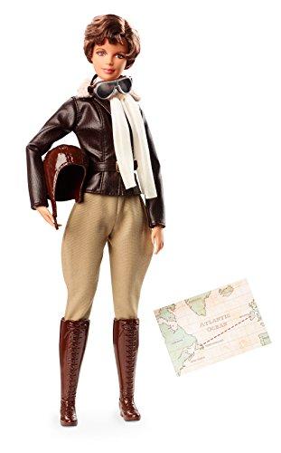 Barbie FJH64 - Signature Amelia Mary Earhart, Erste Weibliche Pilotin, Inspiring Women Collector Puppe für Sammler