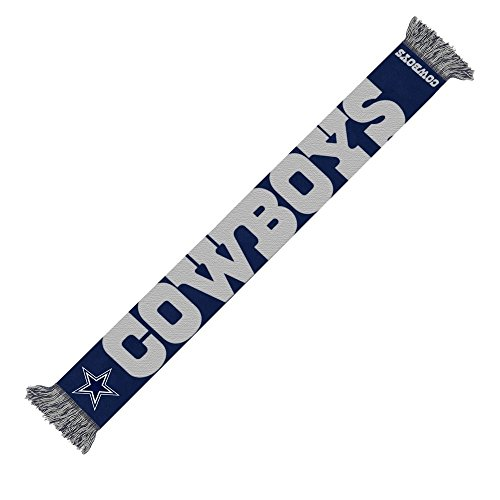 Forever Collectibles Dallas Cowboys 2014 NFL Wordmark Scarf