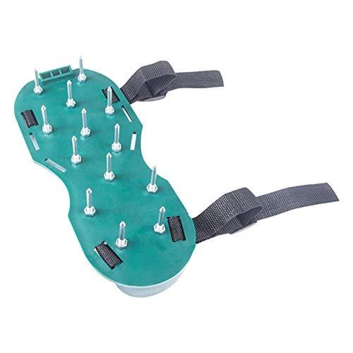 Lockerer Boden Spike-Schuhe, Land Ripper Benzinvertikutierer Nagel Schuhe Spikes Gehen revitalisierende Werkzeug Tragbare Rasen Kultivator Gartengeräte