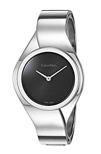 Calvin Klein Reloj Digital para Mujer de Cuarzo con Correa en Acero Inoxidable K5N2M121