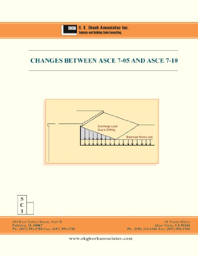 Changes between ASCE 7-05 and ASCE 7-10 (SKGA Seminar Workbook)