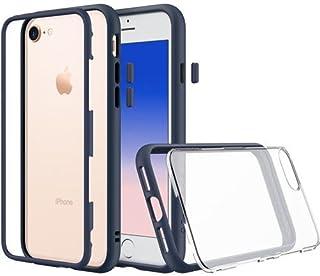 iPhone 6sプレミアムモジュラースリムケース[RhinoShield Mod] iPhone 6用衝撃吸収ヘビーデューティ保護カバー - クリアバック付ショックプルーフブラックバンパー