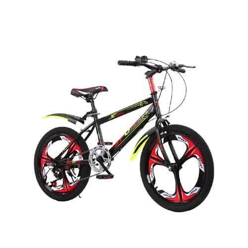 SXFENG Bicicleta De Montaña, Ruedas De 18, 20 Y 22 Pulgadas, Freno De Disco Doble, Cuadro De Aluminio, Bicicleta De Montaña De Una Rueda