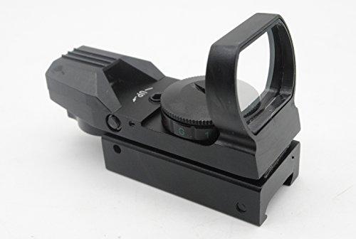 Trirock ottica Red Green DOT olografico reflex sight con reticolo 4tipo per 20mm Rails