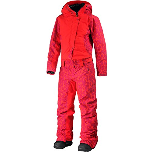 Bench Damen JUMPIT Skioverall, Dark Orange, S