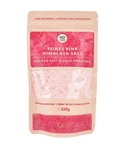 Pink Himalaya Salz, feine Körnung, 250g (Steinsalz / Kristallsalz aus Pakistan)