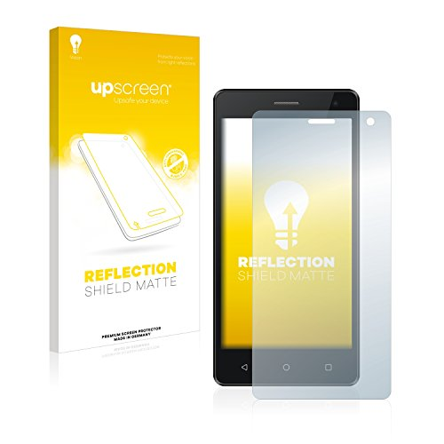 upscreen Entspiegelungs-Schutzfolie kompatibel mit Archos 50d Neon – Anti-Reflex Bildschirmschutz-Folie Matt