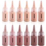 Timbertech S/B Airbrush Makeup Foundation con viales de 12x10 ml con todos los tonos de piel de la...