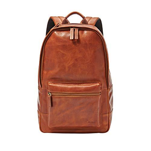 Fossil Men's Leather Estate Backpack