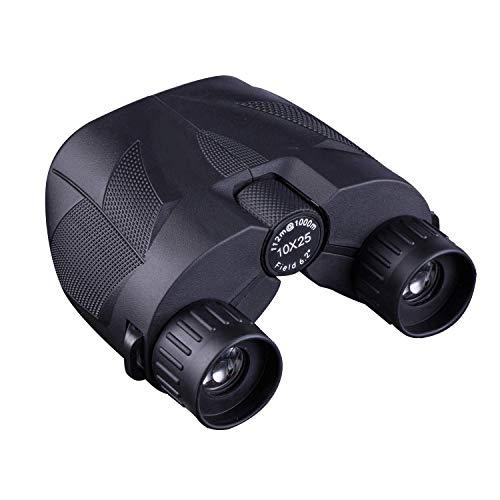 Anchorfield 10x25 Compact Binoculars for Adults and Kids, Small Binoculars for Concerts, Bird Watching, Hunting, Travel, and Sports Games
