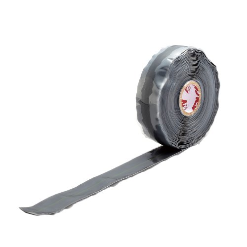 ユニテック   SRG-5 アーロンテープ・グレー  配管補修テープ W25×5000mm