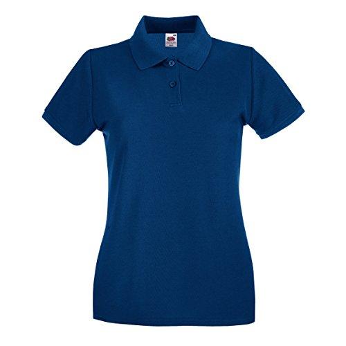 Fruit of the Loom Lady-Fit Premium Camiseta Polo