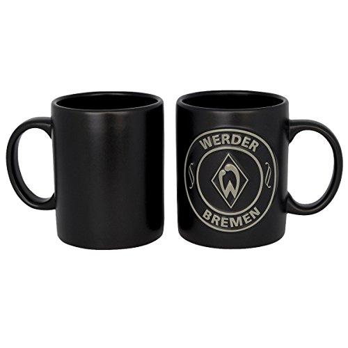 Werder Bremen Tasse / Becher 'Black' WB Fanartikel