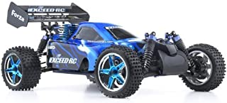 Exceed RC 1/10 2.4Ghz Forza .18 Engine RTR Nitro Powered Off Road Buggy Storm Blue