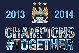 GB Eye 61x 91,5cm Manchester City Premiership Winners