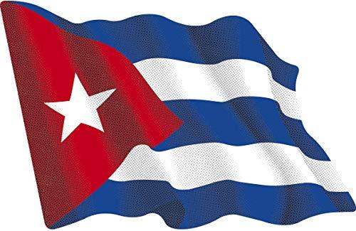 Artimagen Adesivo Bandiera svolazzante Ecuador Piccola 65/X MM 50