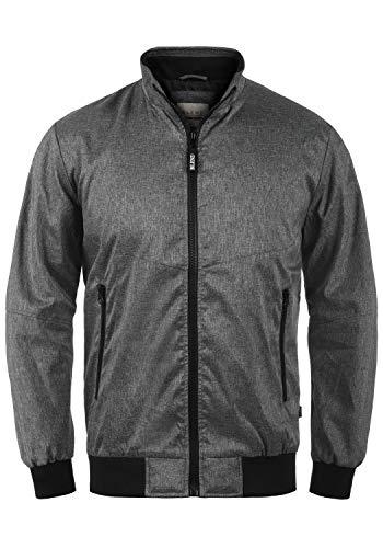 Blend Nelson Herren Softshell Jacke Funktionsjacke Übergangsjacke, Größe:XXL, Farbe:Black (70155)