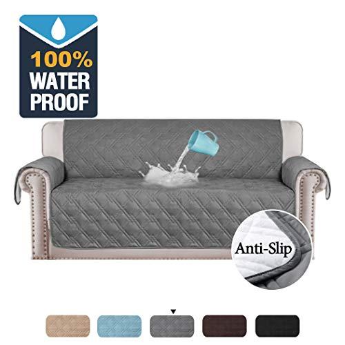 H.VERSAILTEX 100% Waterproof Sofa Slipcovers for...