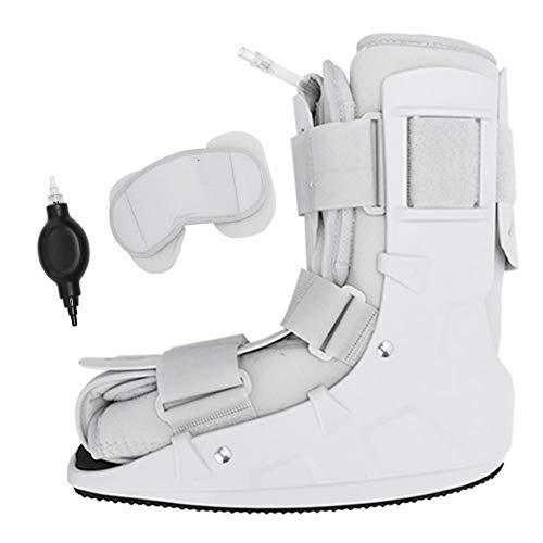 Bota para fracturas, férula plantar de espuma, neumática, bota para caminar inflada individualmente, para el pie delantero, fracturas de tobillo, lesiones de tejidos blandos(S 32-38)