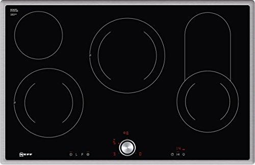 Neff T18BT16N0 Elektrokochfeld N70 / 80cm / TwistPad / Bräterzone / Glaskeramik / Edelstahlrahmen