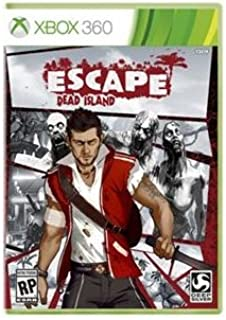 SQUARE ENIX D1177 / Escape Dead Island Action/Adventure Game - Xbox 360