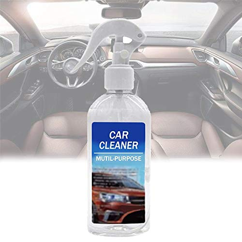 wsxc Stainout All-in-1 Bubble Cleaner for Car, Multi-Purpose Bubble Cleaner Foam Spray, Car Interior Cleaner Spray Foam, Bubble Cleaner All-Purpose Rinse-Free Cleaning Spray (200ml)
