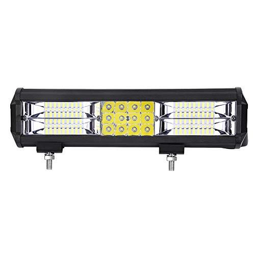 Foco Led Tractor, Sararoom LED Luz Largo del Coche IP67 Impermeable Barra LED Faros Row Antiniebla Luces de Marcha Atrás para para Camión Coches Vehículo Todoterreno (288W)