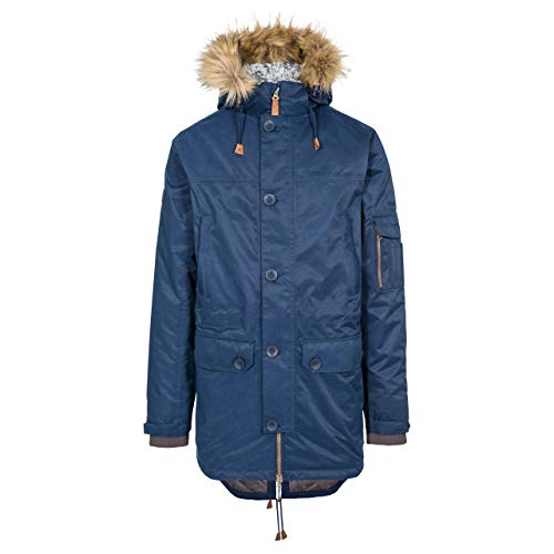 Pyworthy Men's Padded Waterproof Parka Jacket - Navy XXL
