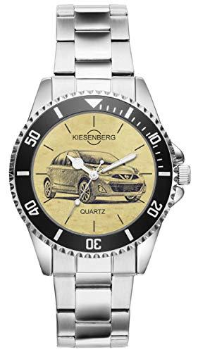 KIESENBERG Uhr - Geschenke für Micra K13 Modellpflege Fan 4805
