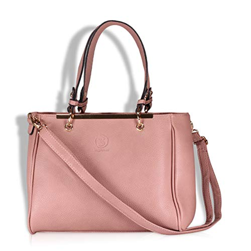 bag lovers - First Love - Wunderschöne Handtasche für Damen in rosa - Stylische Tote bag in Premiumqualität - mit Schulterriemen - Damentasche
