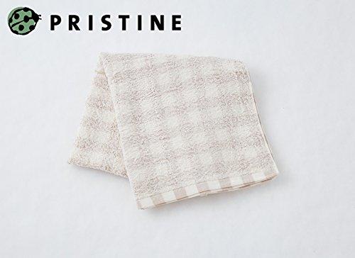 プリスティン『フローズンチェックバスタオル』